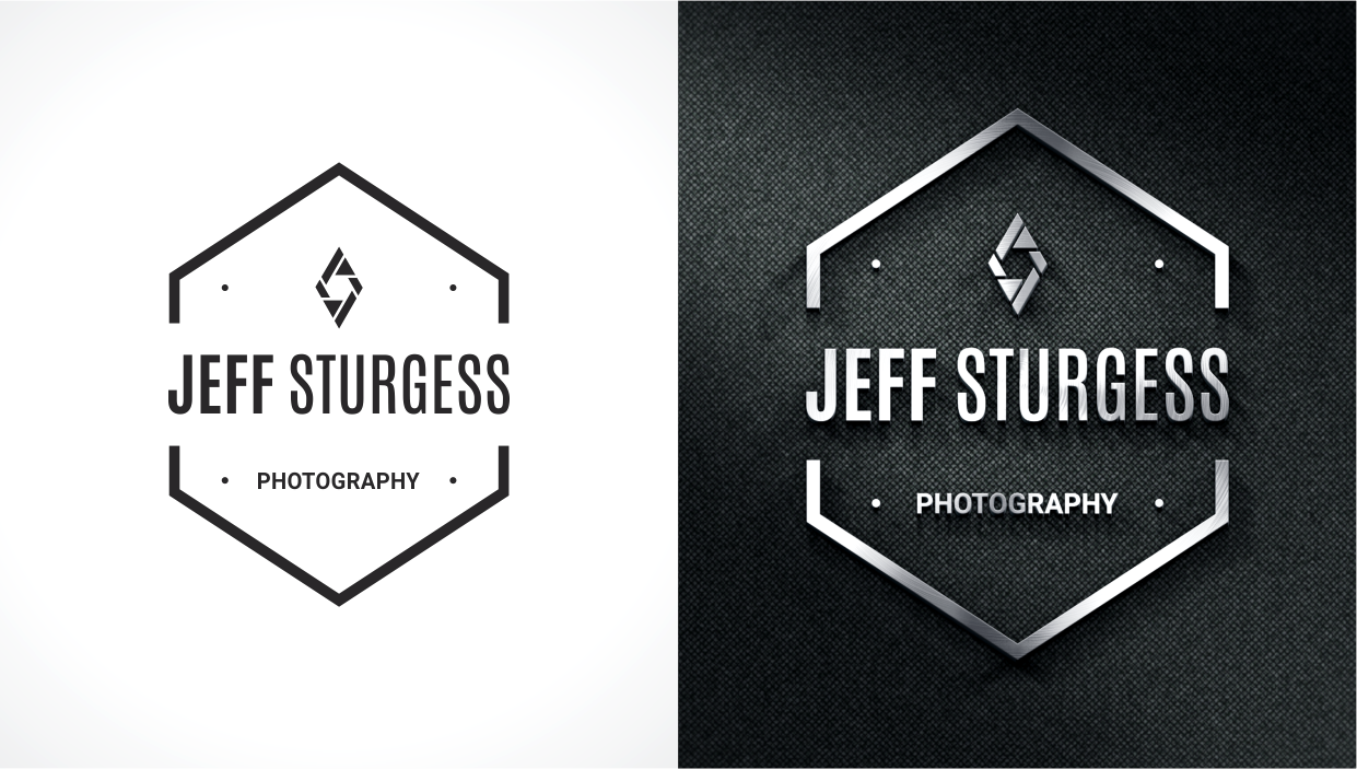 Logo Design By Lighten Creative Graphix For Jeff Sturgess Photography LLC