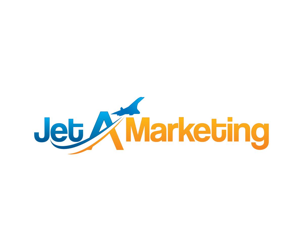 Marketing Logo Design for Jet A Marketing by lokiasan ...