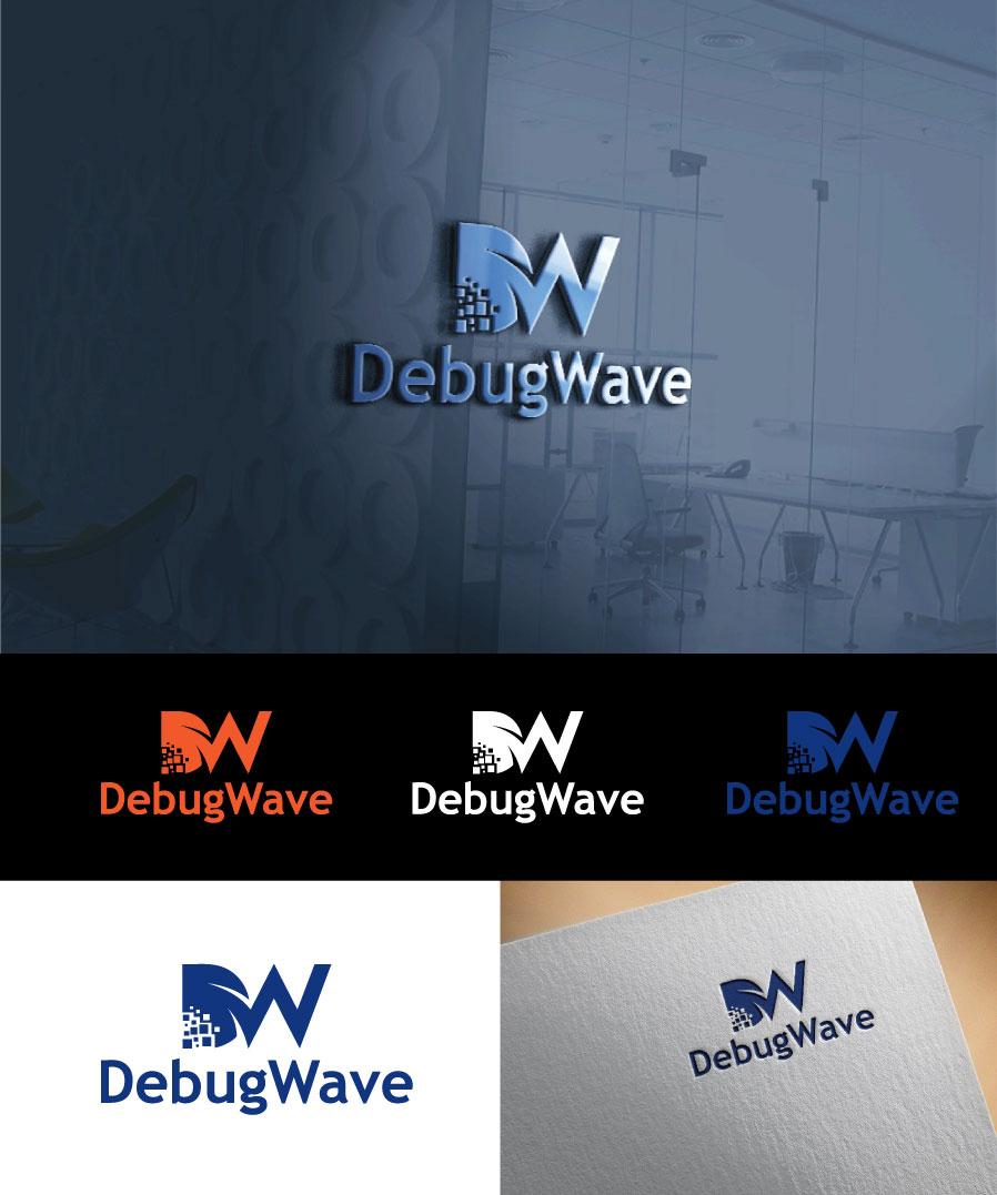 Professional Conservative Software Development Logo Design For Debugwave By Top Crowd Designer Design 18045999