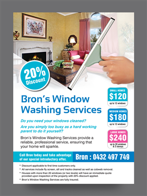 Flyer Design For Bronwyn Marshall A Company In