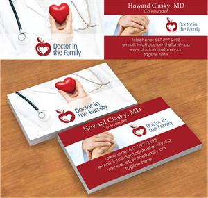 Business Card Design By Red Rocket Creative For This Project
