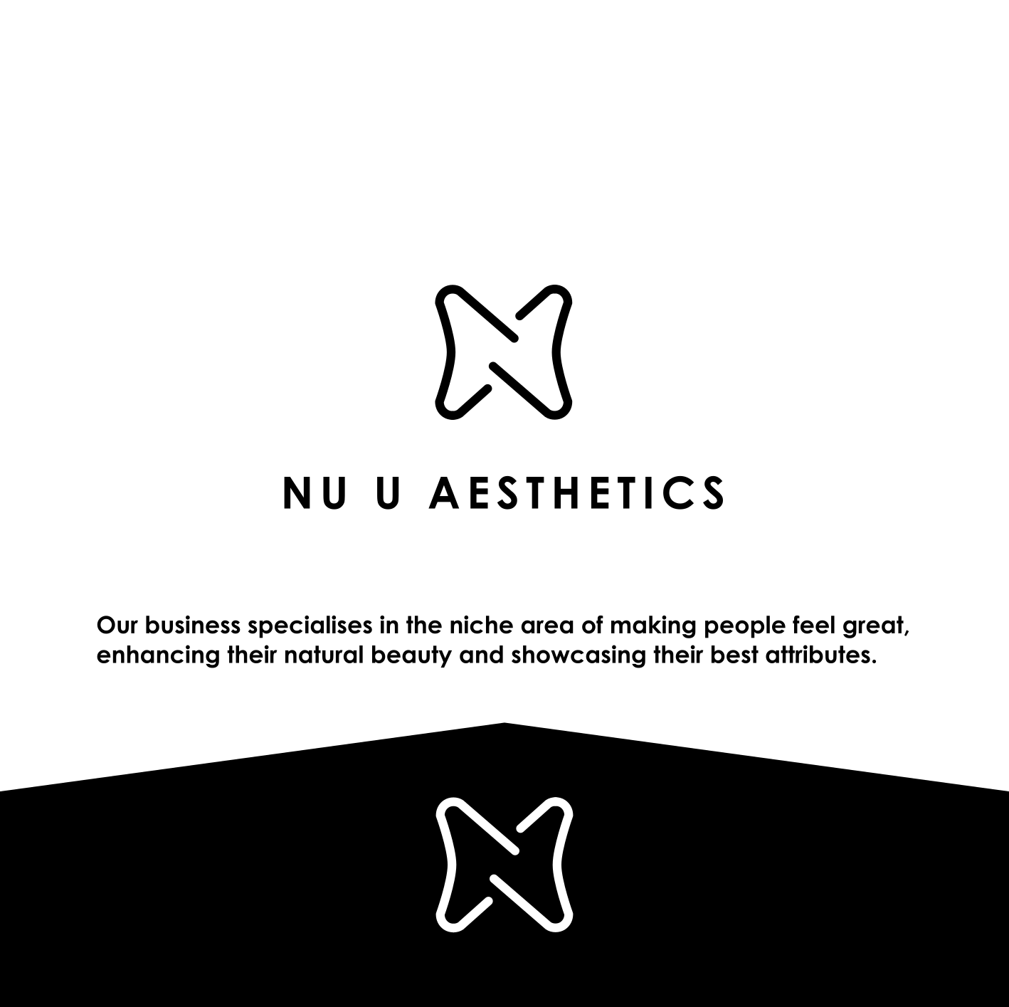 Conservative, Upmarket, Cosmetic Logo Design for Nu U