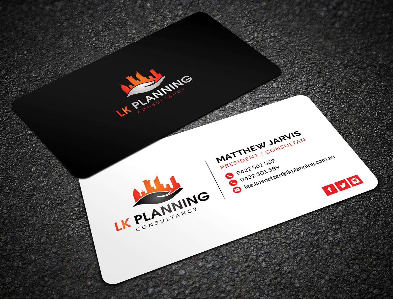 Bold conservative land development business card design for lk bold conservative land development business card design for lk planning in australia design 18042602 reheart Images