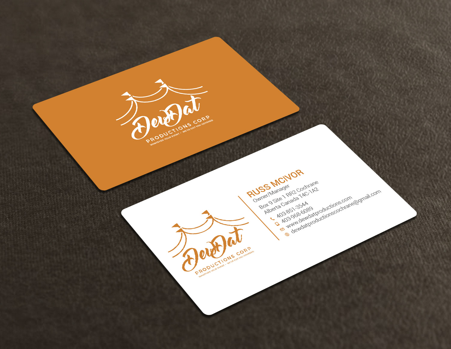 Contractor Business Card Design for a Company by Avanger_000 ...