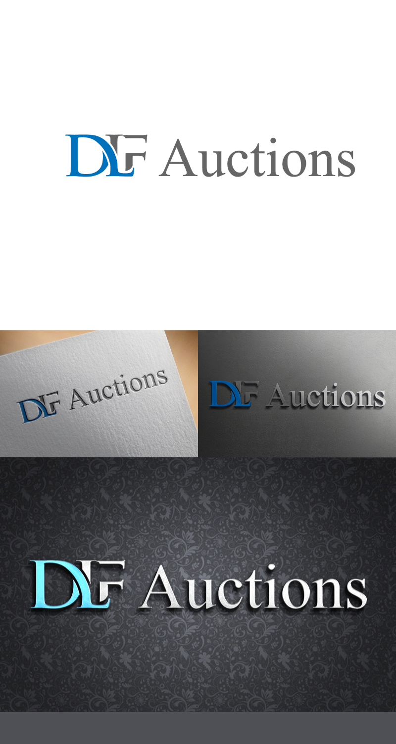 Bold, Serious, It Company Logo Design for DLF Auctions by
