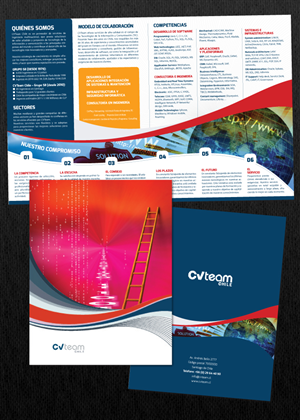 Professional upmarket brochure design job brochure brief for Design firm jobs