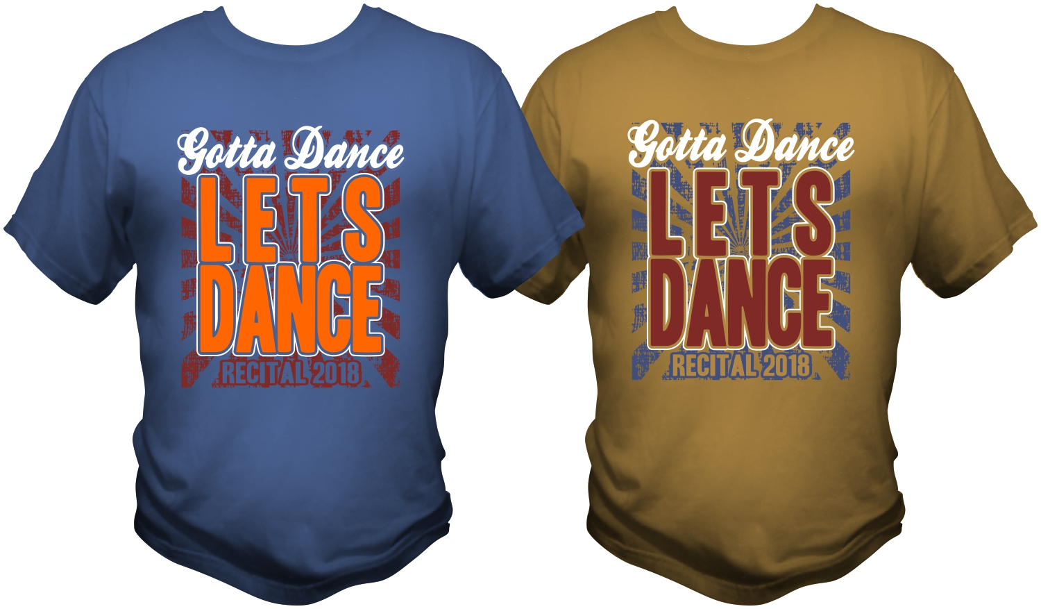 Bold Playful Dance Studio T Shirt Design For Gotta Dance Dance