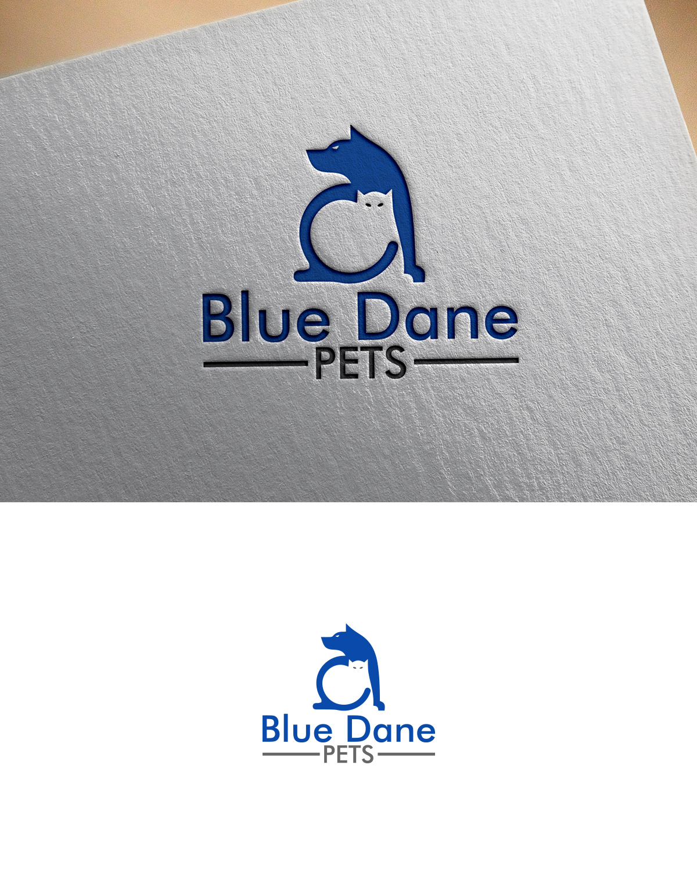 Seriøst Playful, Personable, Pet Care Logo Design for Blue Dane Pets by UM07