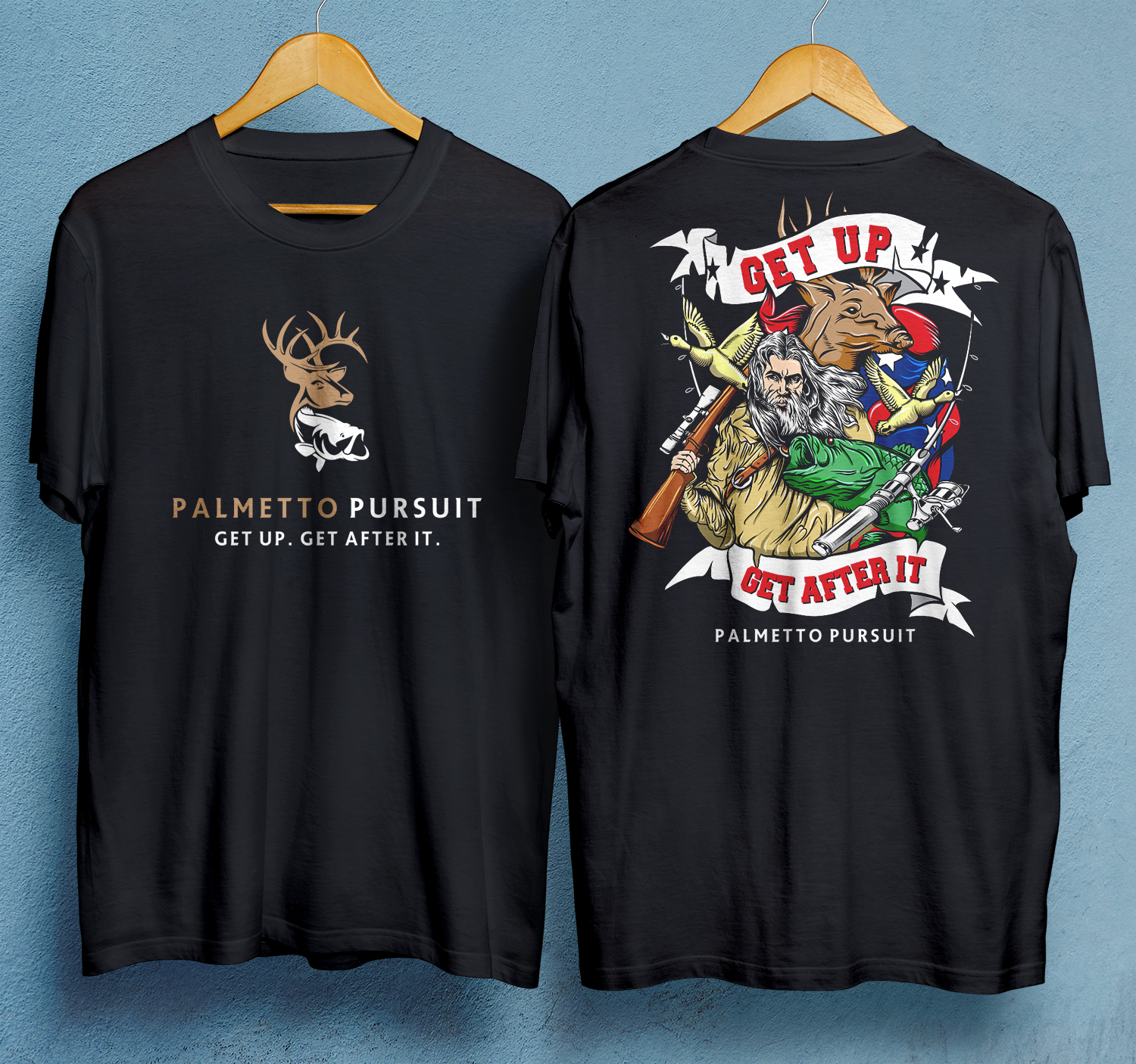 Prime Bold Playful Hunting T Shirt Design For A Company By 99 Beutiful Home Inspiration Cosmmahrainfo
