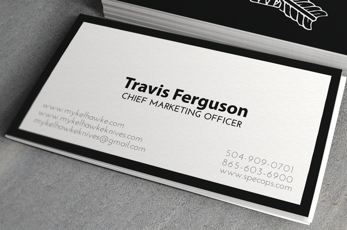 Business Card Design By Franco Bermúdez For This Project 2789284