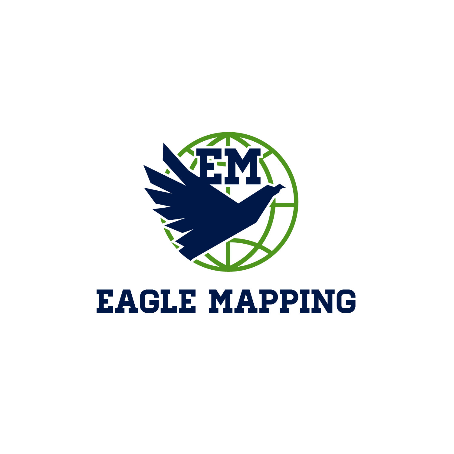 Modern professional logo design for eagle mapping ltd by at as logo design by at as for high quality digital mapping company with clients all over biocorpaavc Images