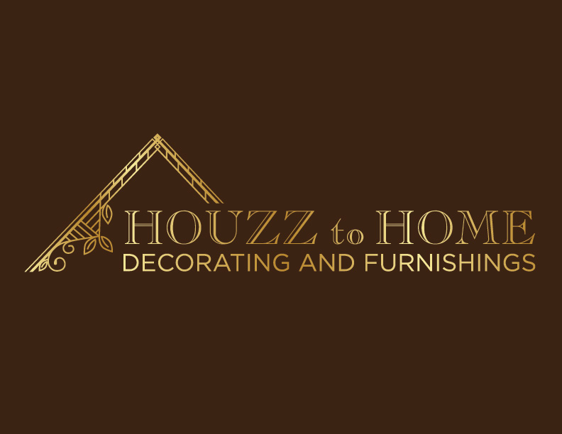 Business Logo Design For HH HOUZZ To HOME Decorating And Furnishings Inspiration Graphic Design At Home Decoration