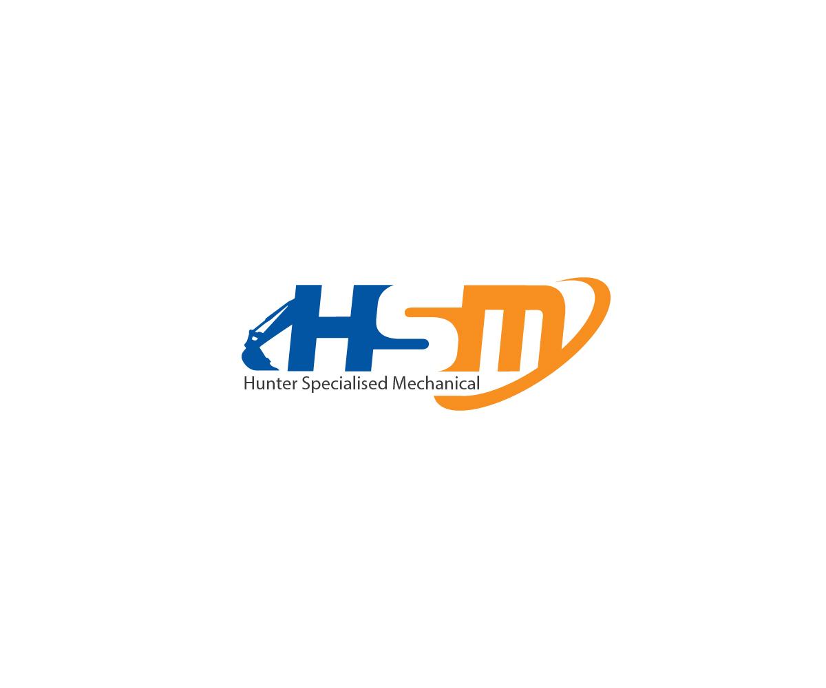 masculine serious mechanic logo design for hunter specialised rh designcrowd co uk Professional Mechanic Logo graphic mechanic design studio