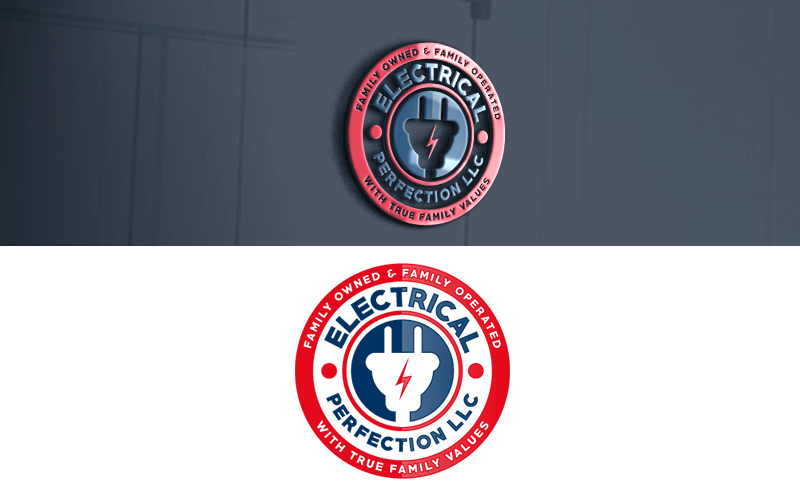 Bold Serious Electrician Logo Design For Electrical Perfection Llc