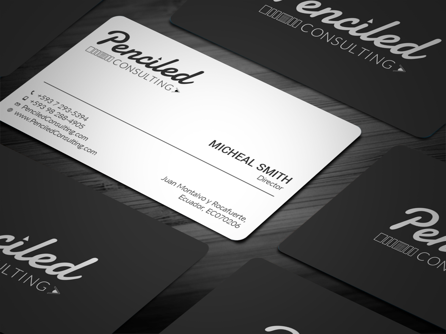 190 Bold Business Card Designs   Consulting Business Card Design ...