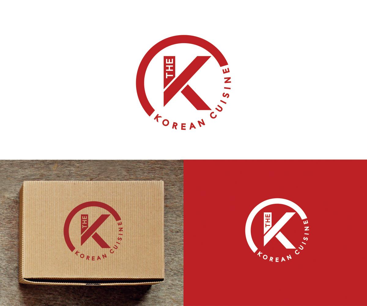 Modern Professional Restaurant Logo Design For The K Korean Cuisine By Mari Ph Design 18108692
