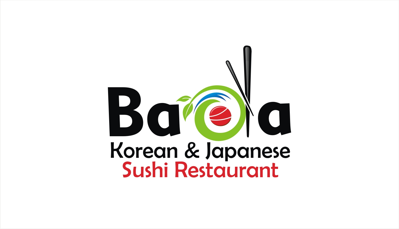 Elegant Playful Restaurant Logo Design For Bada Story Korean Japanese Sushi Restaurant By Soul Light Design 18161926