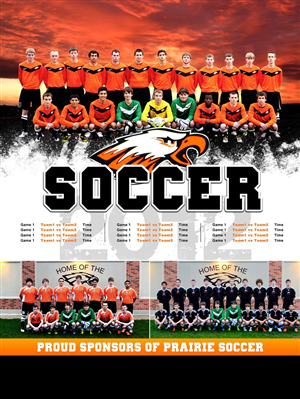 Poster Design by CanonShooter - High School Soccer Poster