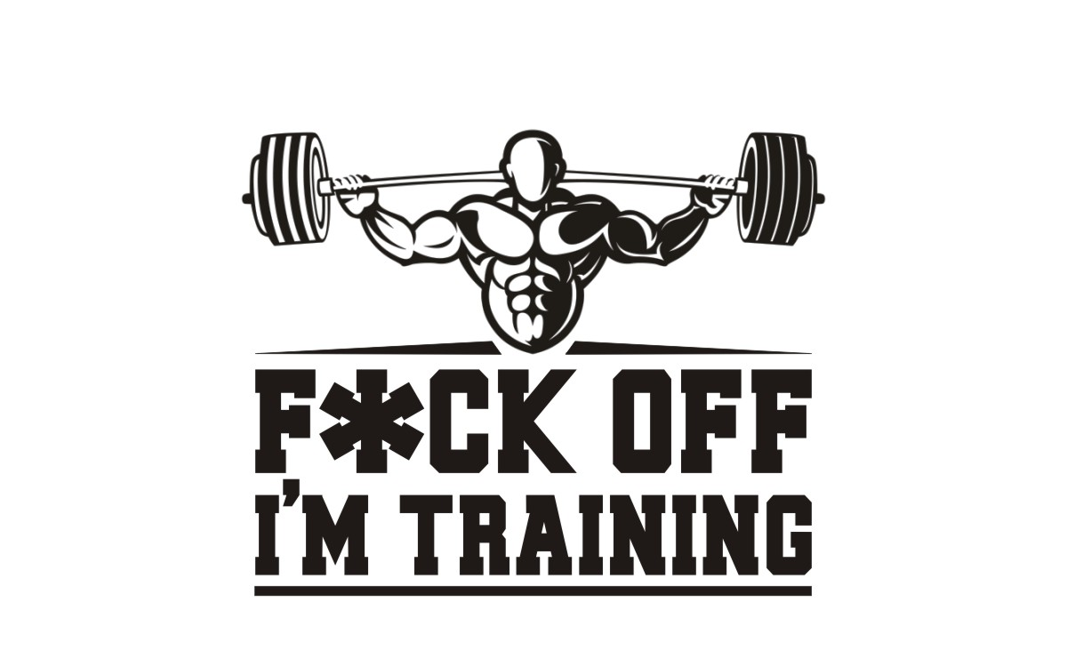 Bold, Serious T-shirt Design for Pumping Iron Muscle Development ... for Bodybuilding Graphic Design  150ifm