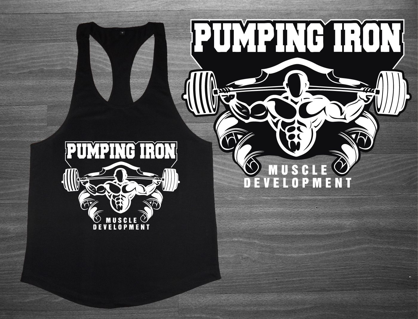 T Shirt Design By One Day Graphics For Gym Fitness Bodybuilding Fuck Off