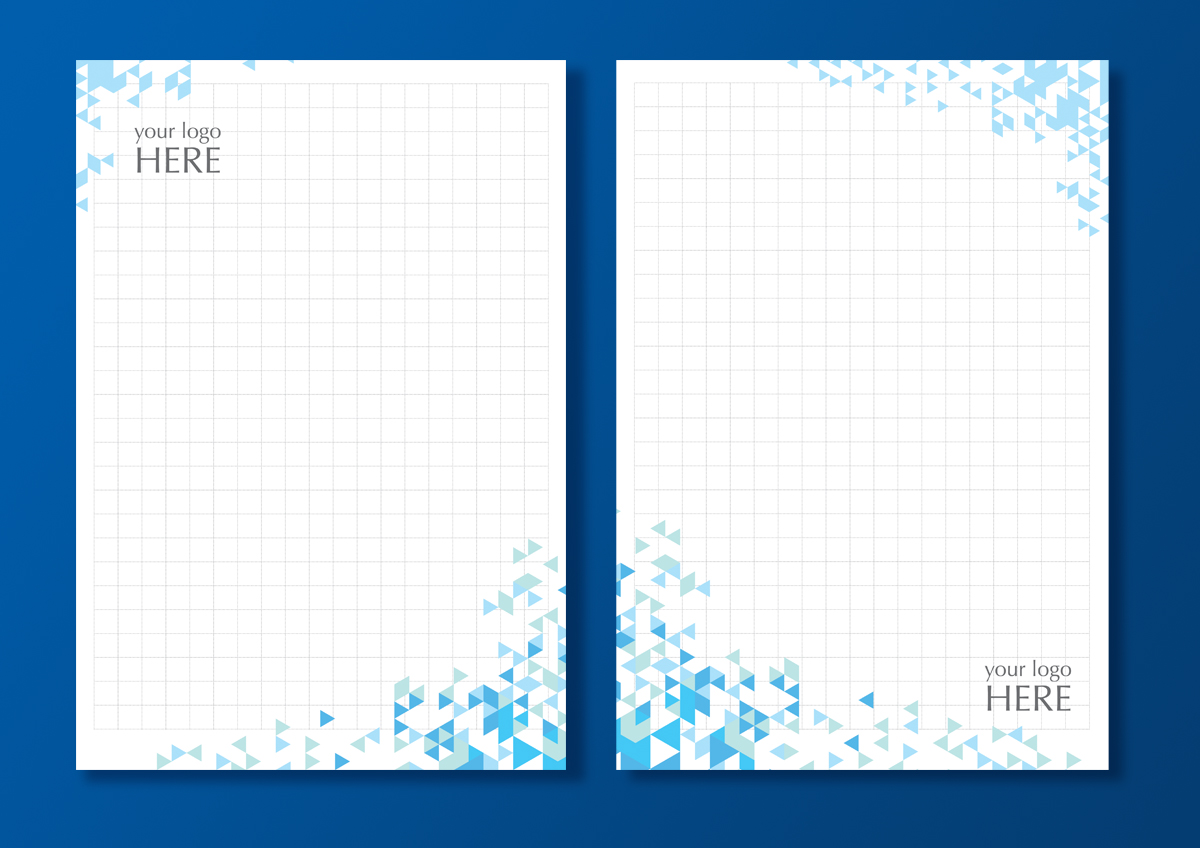 elegant modern graphic design letterhead design for pixartprinting