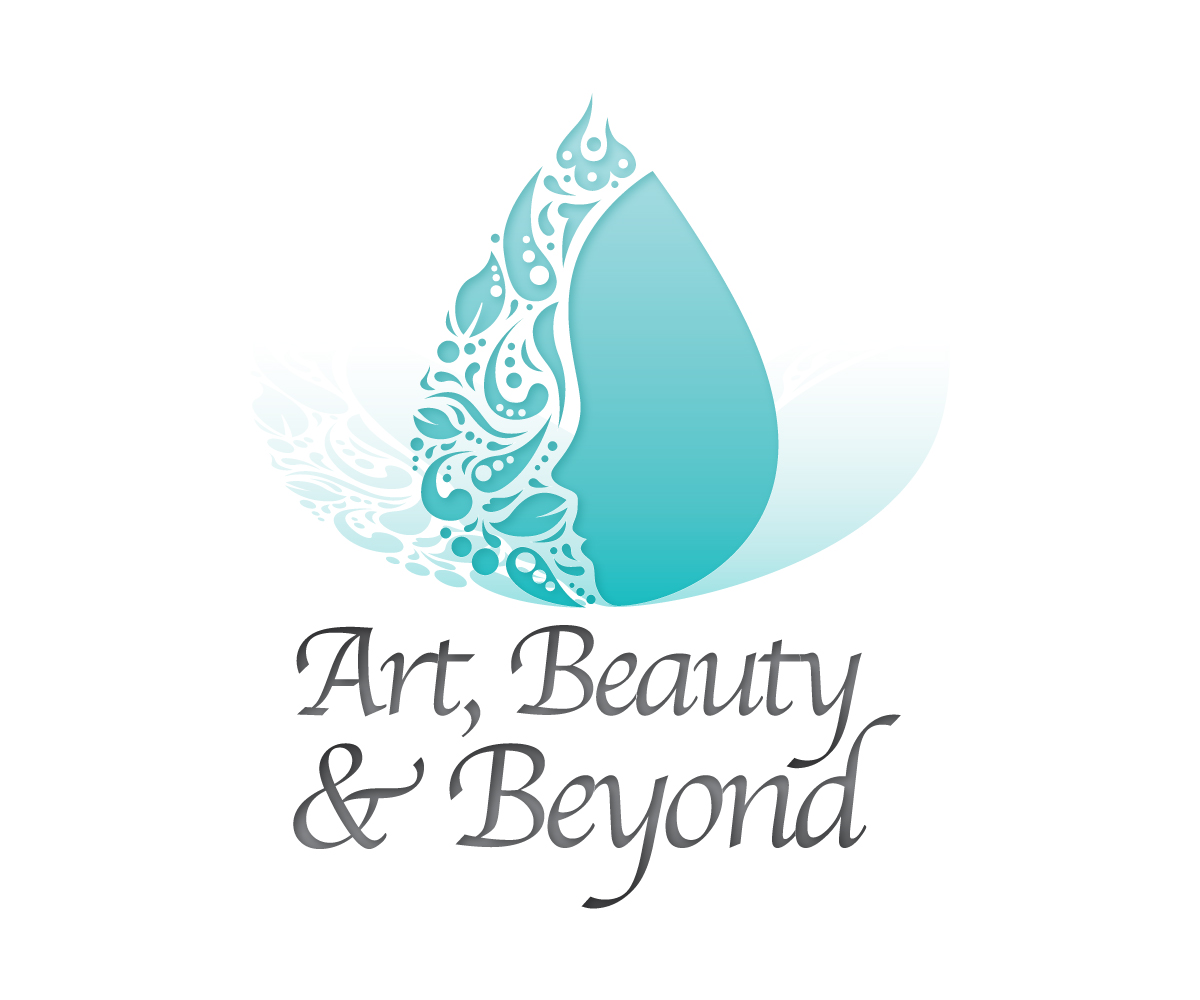 Femenino vistoso beauty salon dise o de logo for art for Salon beyond beauty