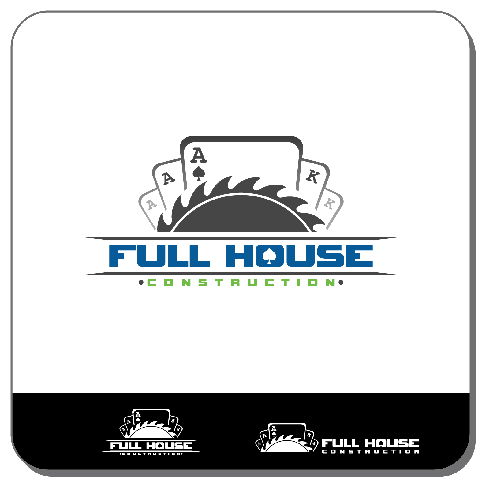 Construction Logo Design For Full House In United States