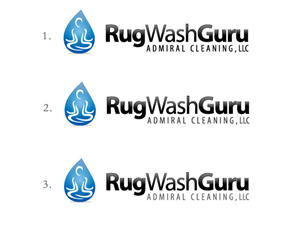 Logo Design job – Rug Wash Guru - Logo – Winning design by webart