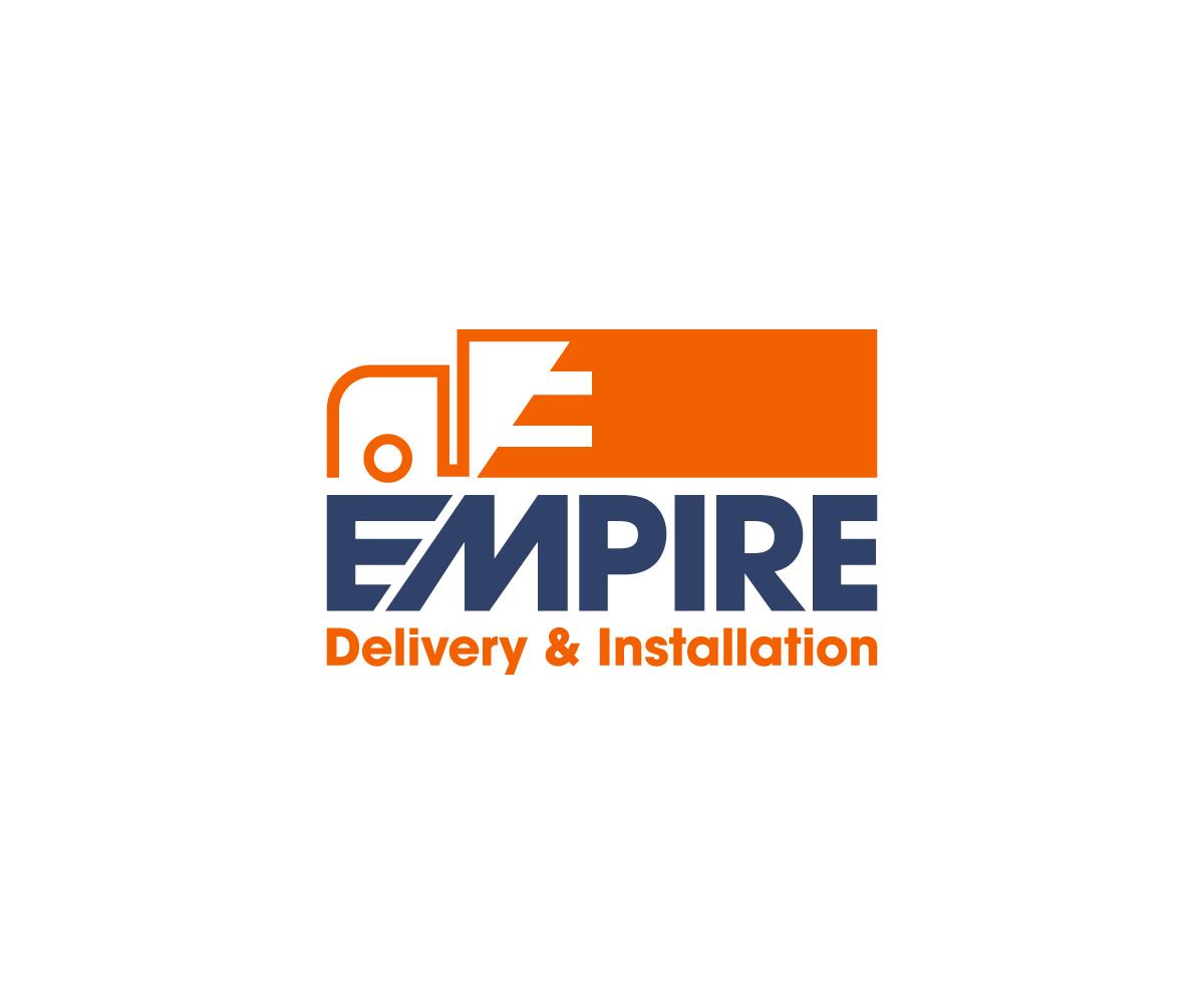 bold serious home improvement logo design for empire delivery rh designcrowd com home improvement logos ideas home improvement logos images