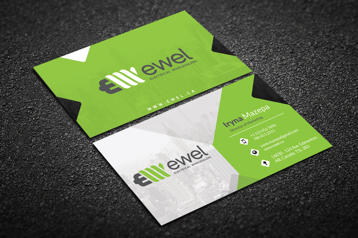 Bold professional business business card design for ewel by sahank bold professional business business card design for ewel in canada design 18250301 reheart Images