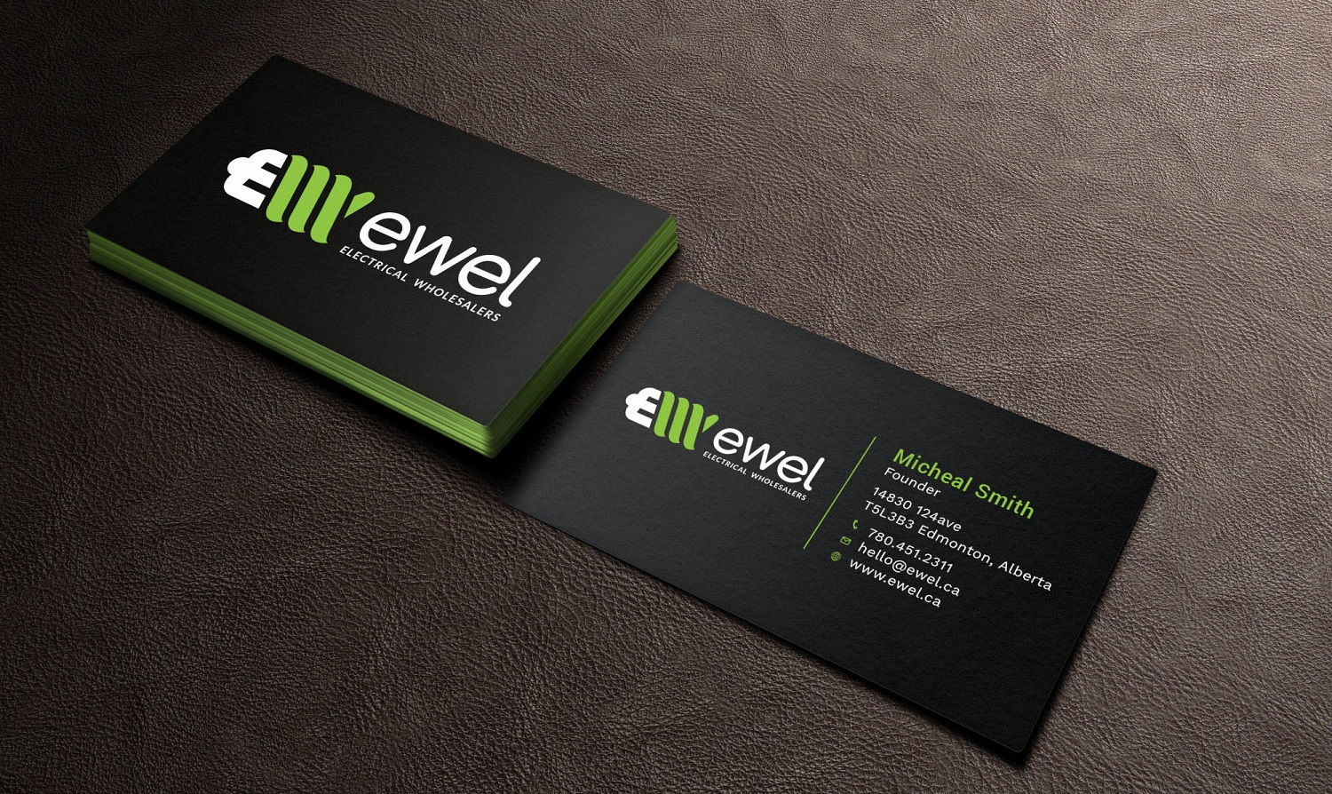 Bold, Professional Business Card Design for EWEL by Avanger_000 ...