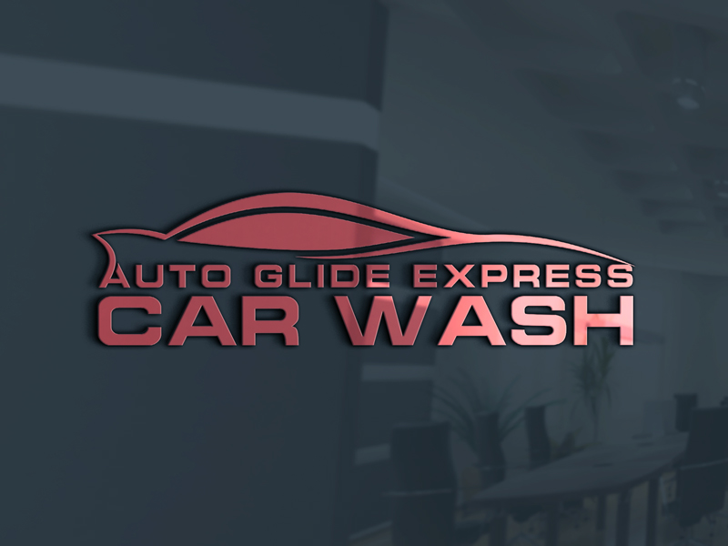 Professional Upmarket Logo Design For Auto Glide Express Car Wash
