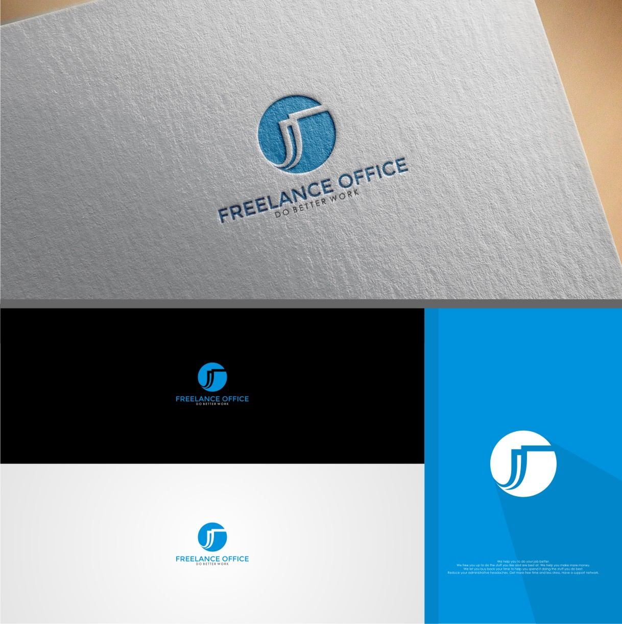 Bold, Serious Logo Design for