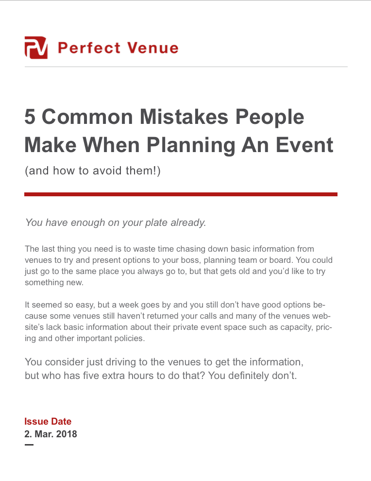 word for important event