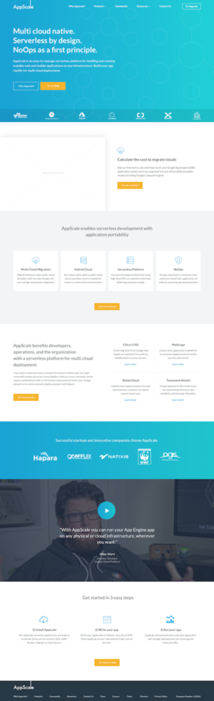 Web App Homepage Design | Web Design Crowdsourcing Crowdsource Your Web Design