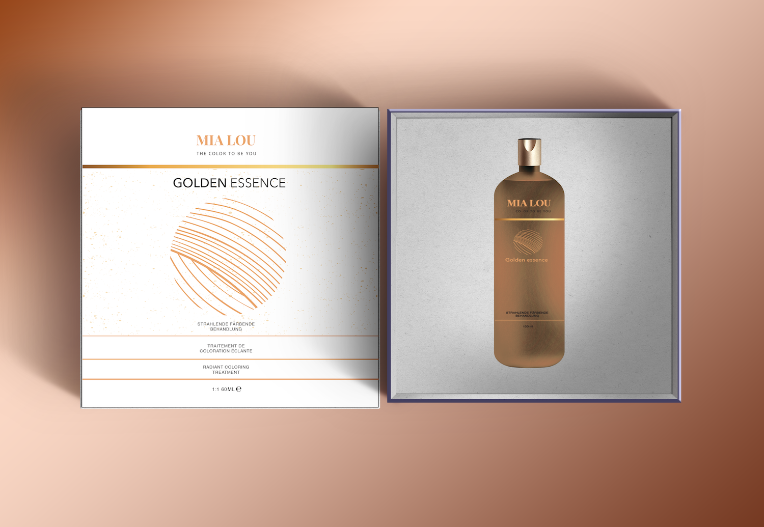 Nowość Elegant, Serious, Hair And Beauty Packaging Design for Mia Lou AG WQ65