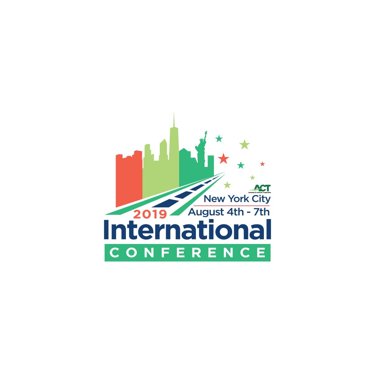 Bold, Playful Logo Design for 2019 International Conference