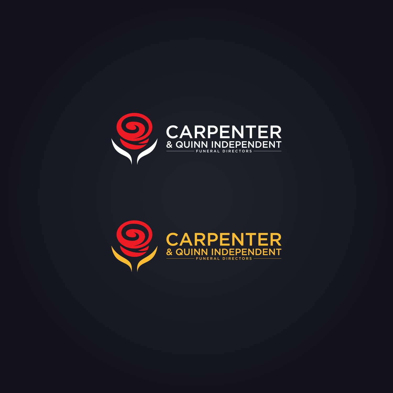 Funeral Home Logo Design for Carpenter