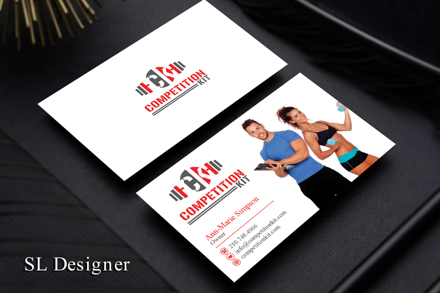 Modern professional business card design for competition kit by sl business card design by sl designer for competition kit design 18209080 reheart Gallery