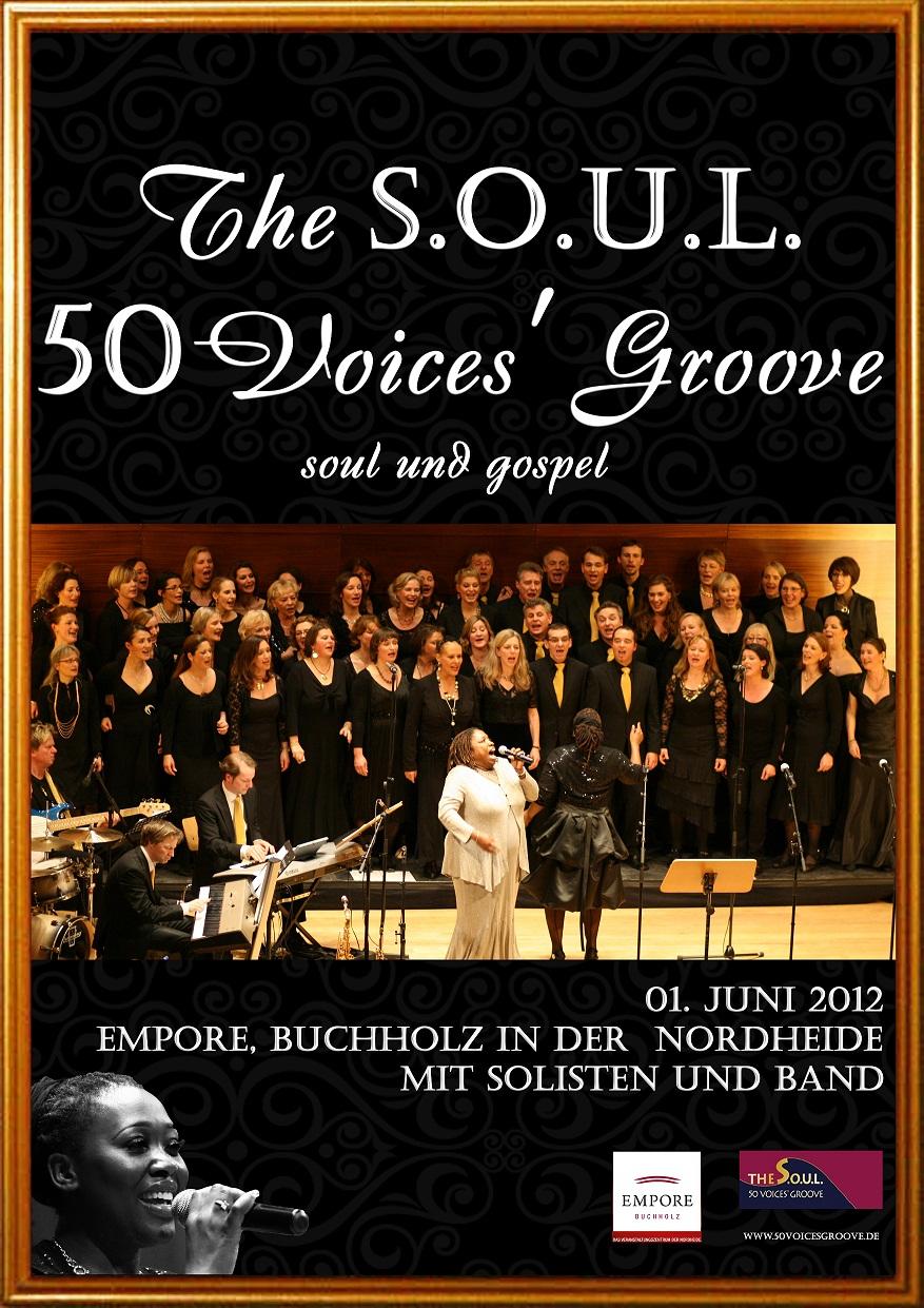 Design poster for concert - Poster Design By Radoslava For Poster For Gospel Soul Choir Concert Design 664963
