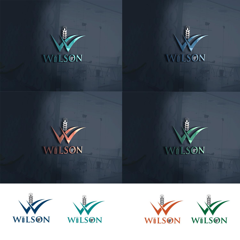 197 modern logo designs agriculture logo design project for wilson grains ltd. Black Bedroom Furniture Sets. Home Design Ideas