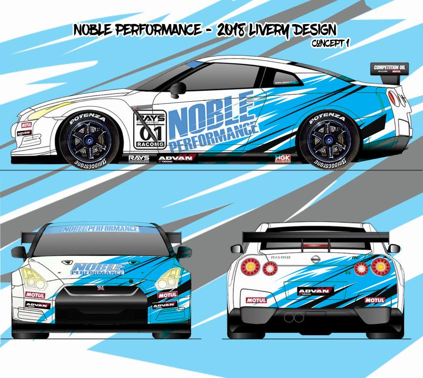 Elegant, Playful, Car Racing Car Wrap Design for a Company