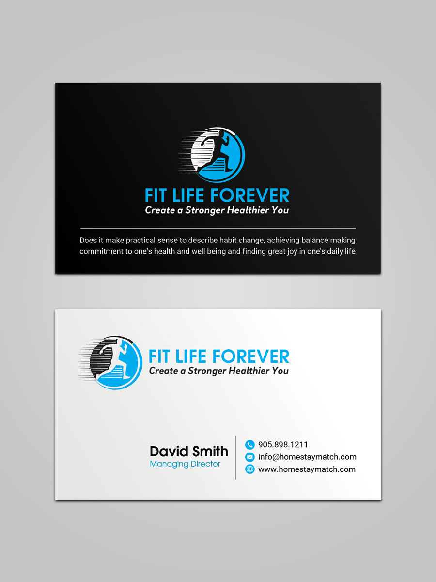 Bold serious fitness business card design for create a stronger bold serious fitness business card design for a company in united states design 18236183 colourmoves