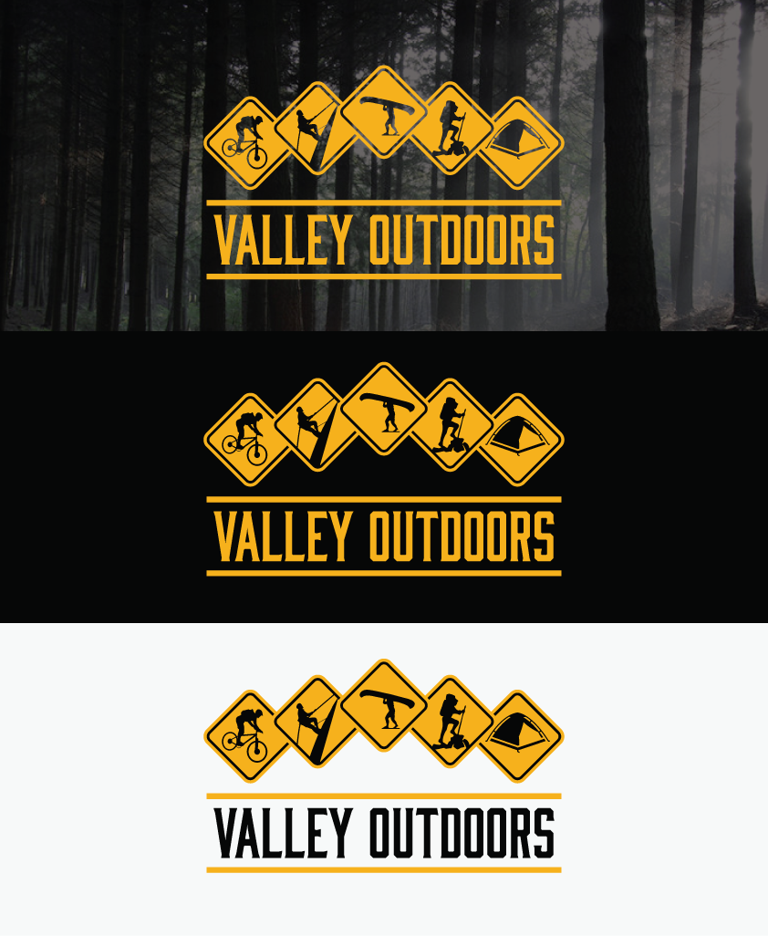 Outdoor Adventure Company logo by raigraphics