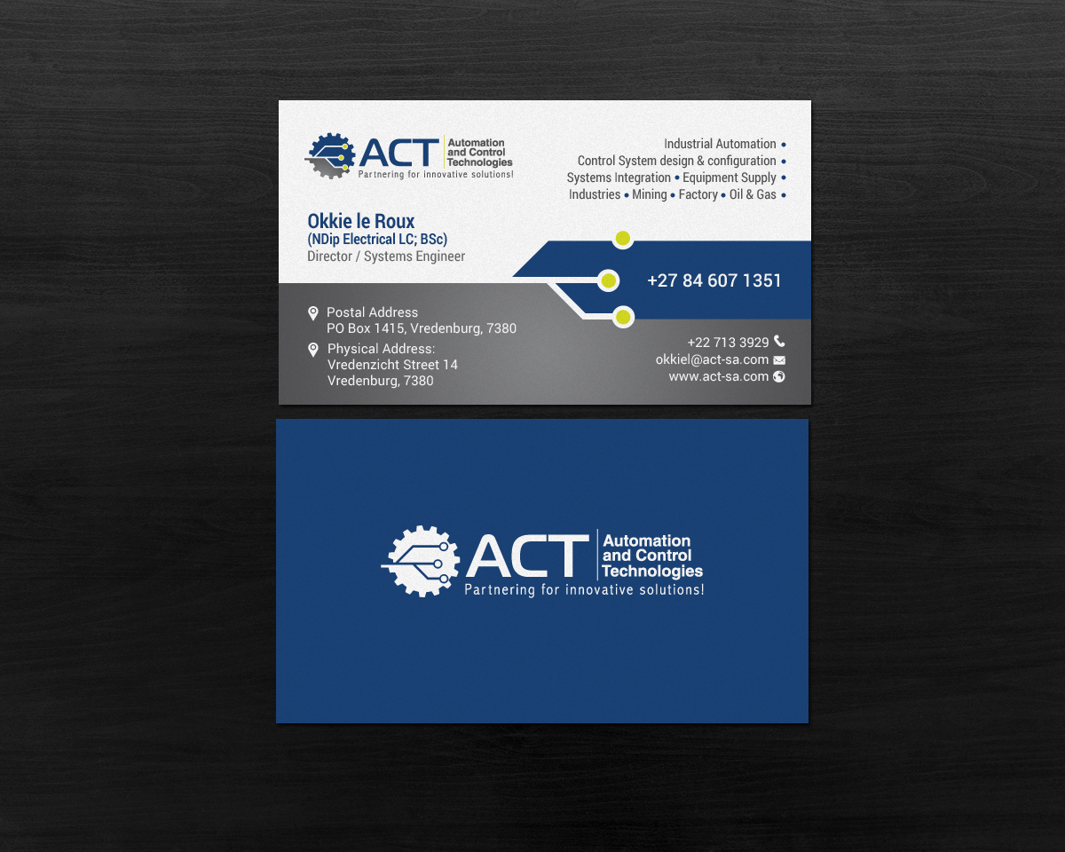 148 Professional Business Card Designs | Engineering Consultant ...