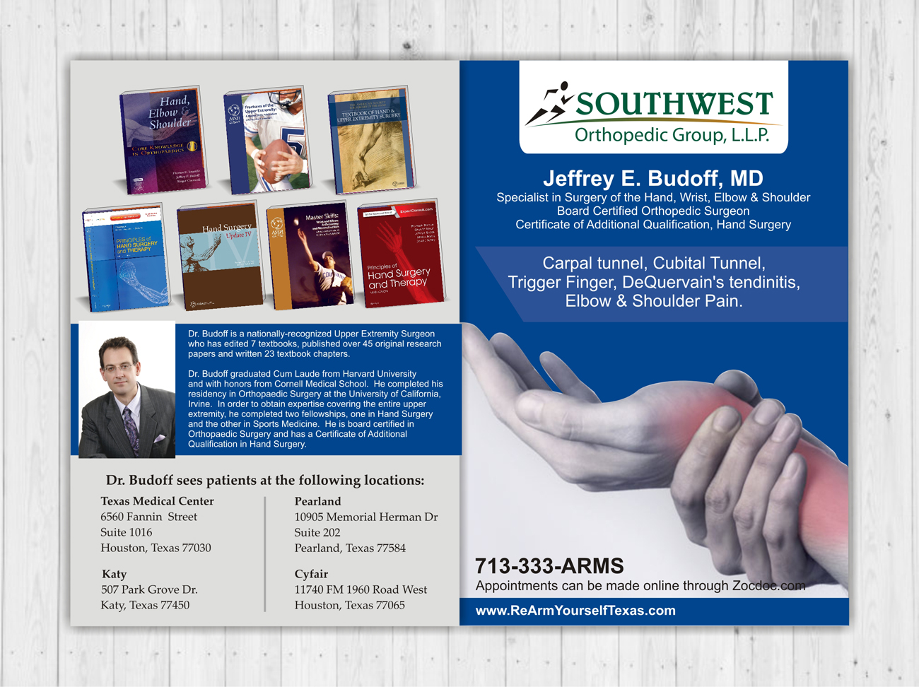 Professional, Serious Flyer Design for a Company by