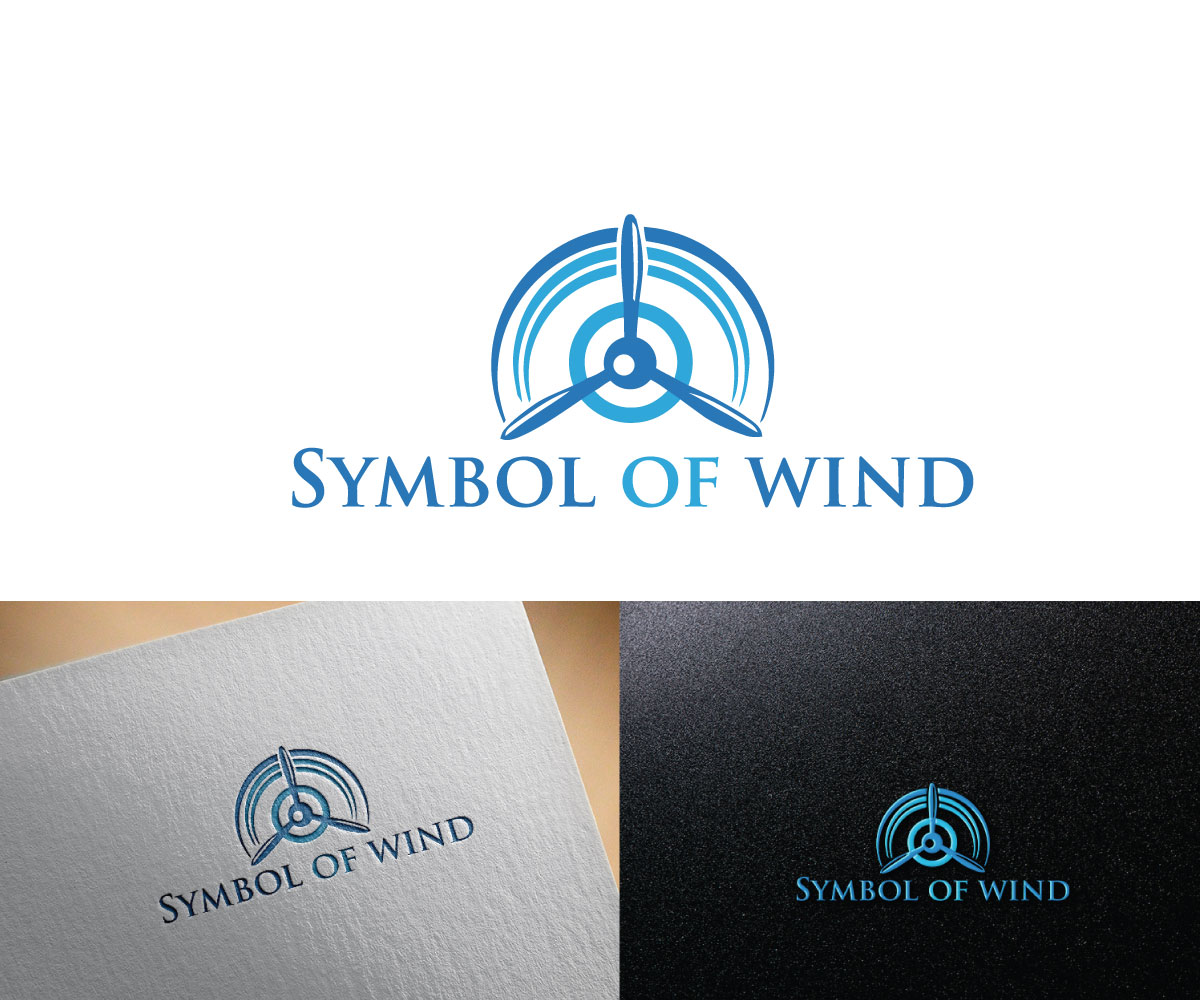 Elegant Serious Logo Design For Symbol Of Wind R By All Wazedo