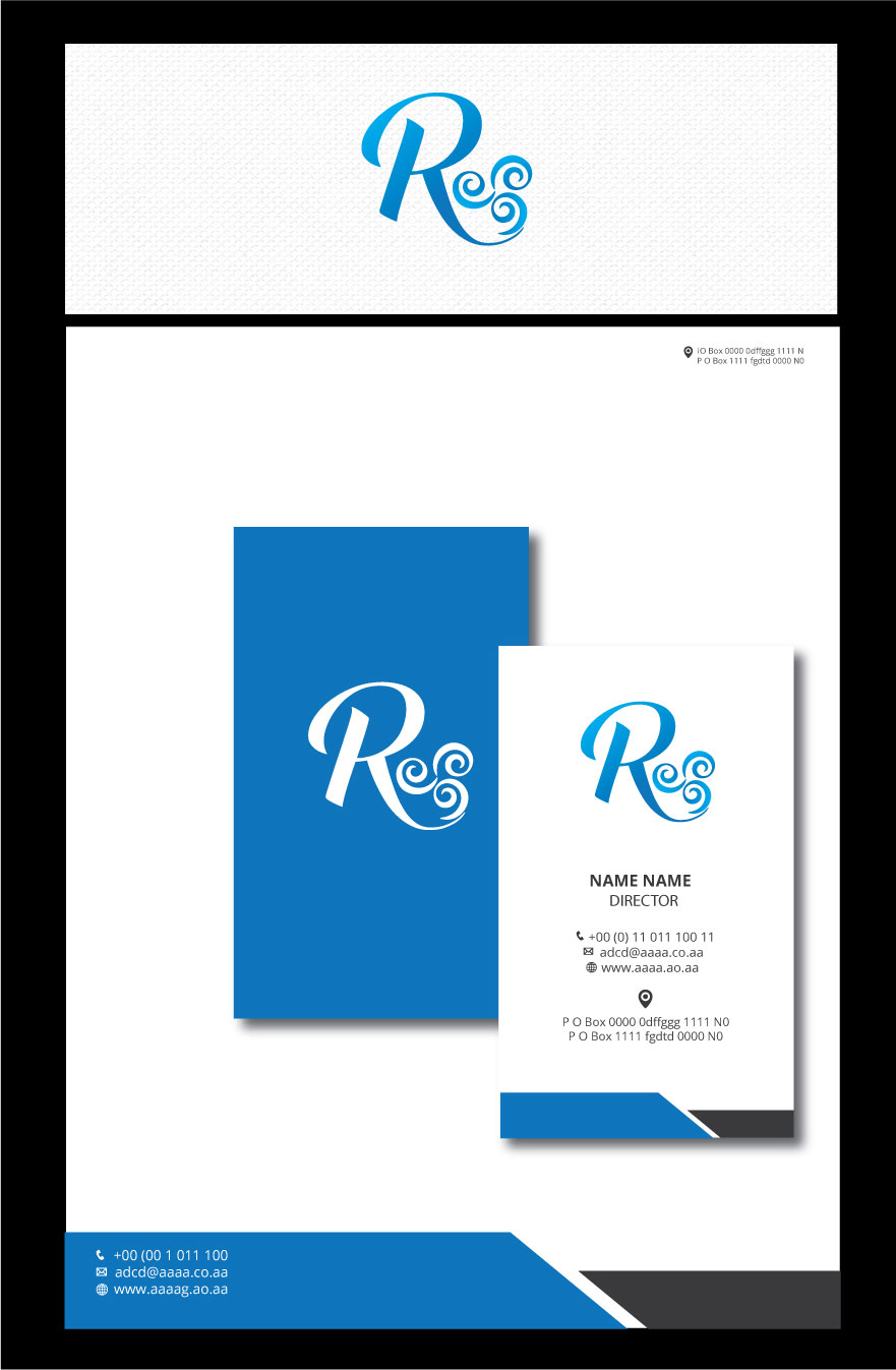Elegant Serious Logo Design For Symbol Of Wind R By