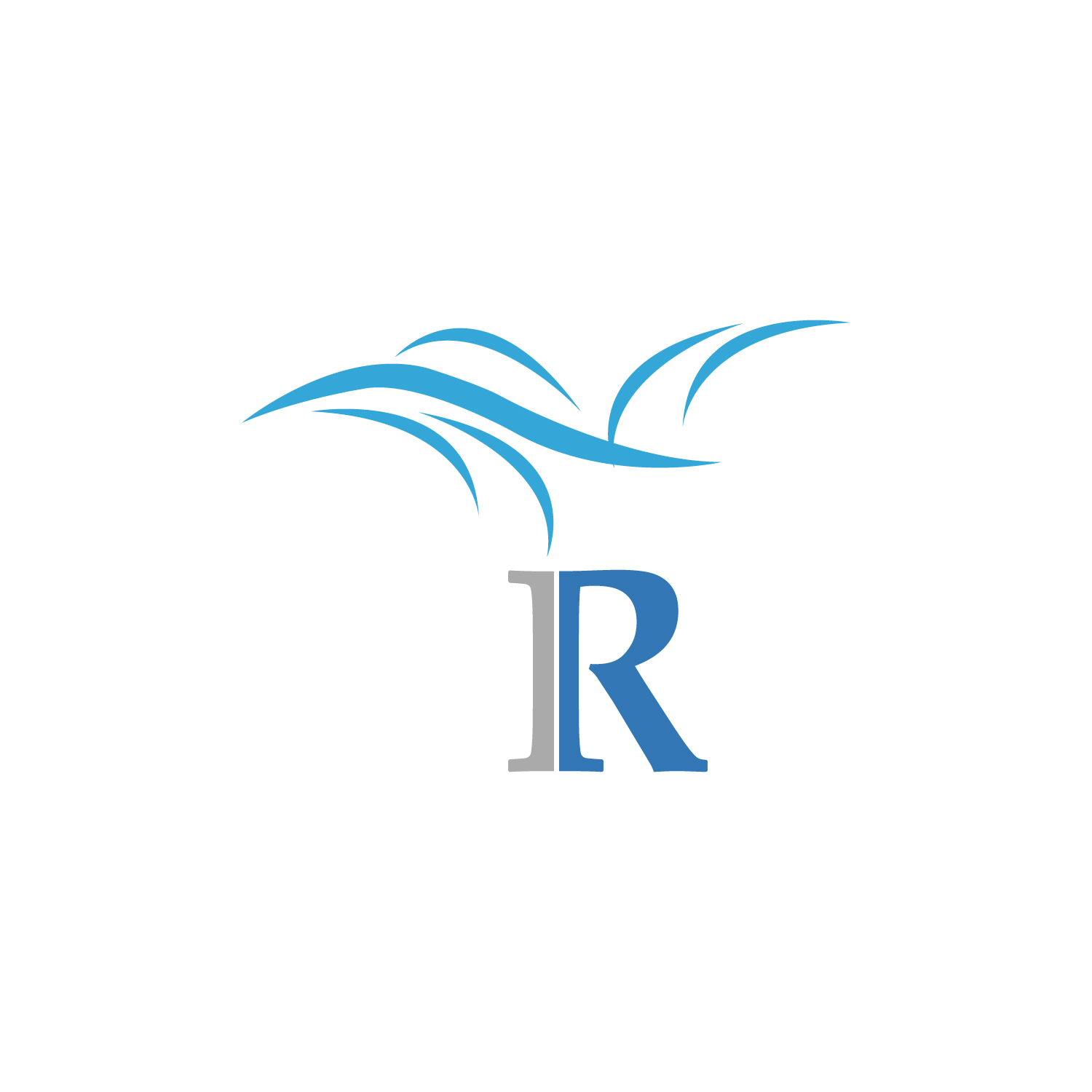 Elegant Serious Logo Design For Symbol Of Wind R By Shahrukh 5