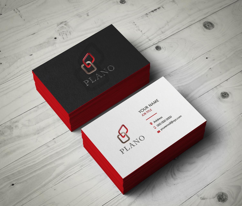 Fett Modern Design Agency Visitenkarten Design Für A